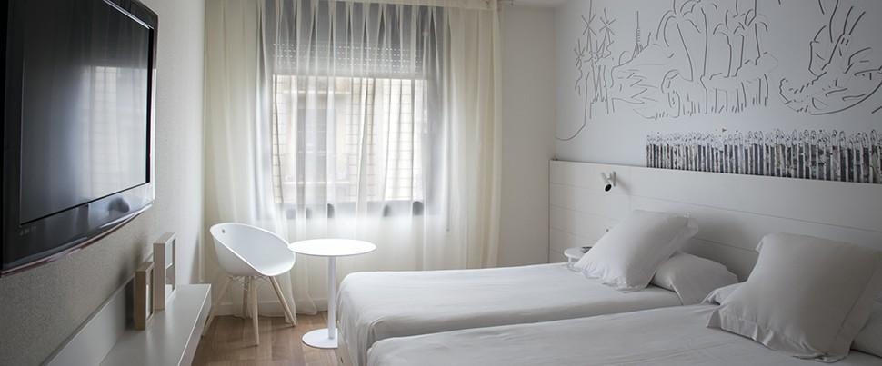Chambres h tel pol grace barcelone - Hotel chambre familiale barcelone ...